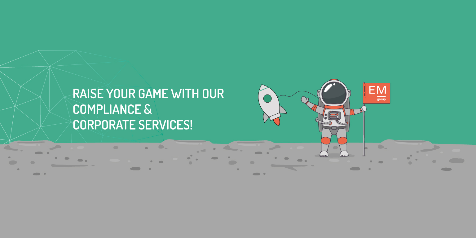 Raise your game with our compliance and corporate services!